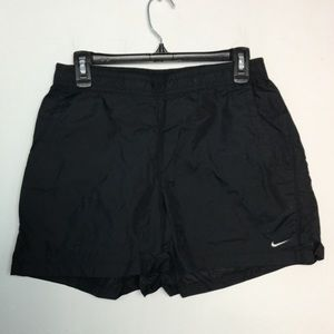 Nike L 12 - 14 Athletic Shorts Black Pockets EUC